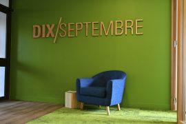 Agencement des bureaux de l'agence 10 septembre