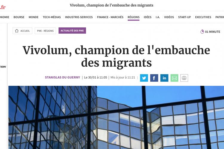 Vivolum trouve des salariés «hypermotivés» – Les Echos