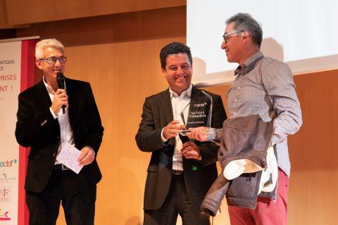 Vivolum récompensé aux trophées de l'insertion MEDEF